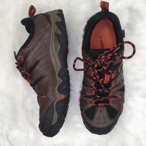 Merrell 8.5 Brown Hiking Walking Shoe Sneaker